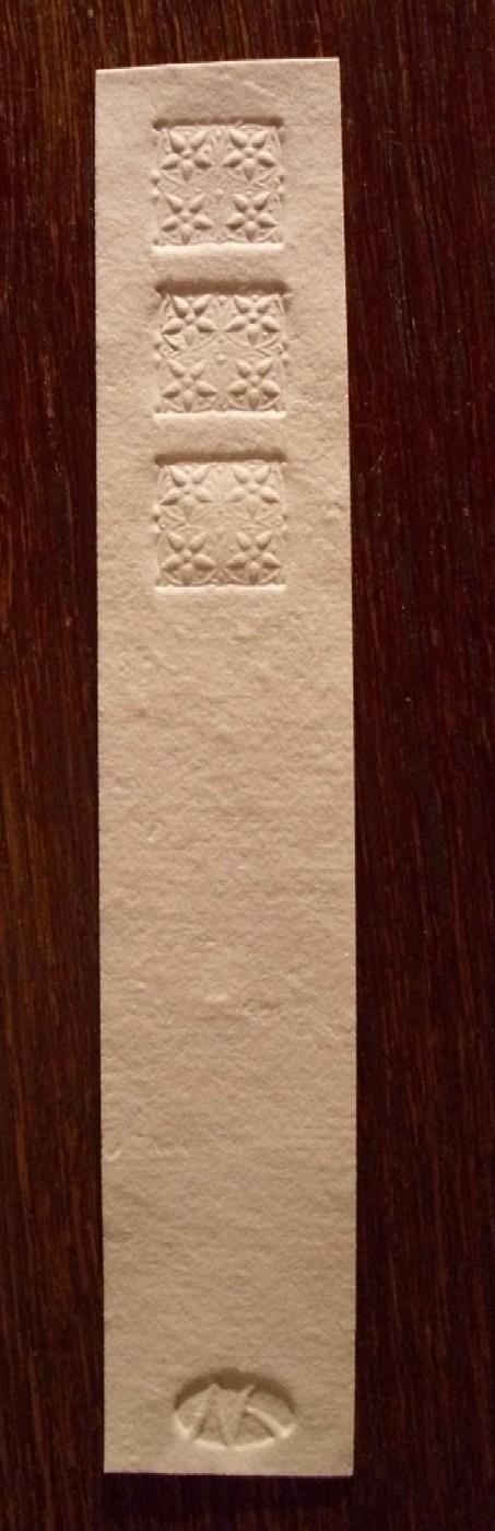Echt handgesch?pftes b?ttenpapier aus der papierwerkstatt